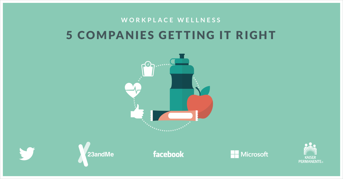 Workplace Wellness: 5 Companies Getting it Right
